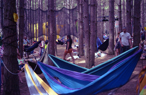 Electric Forest Camping