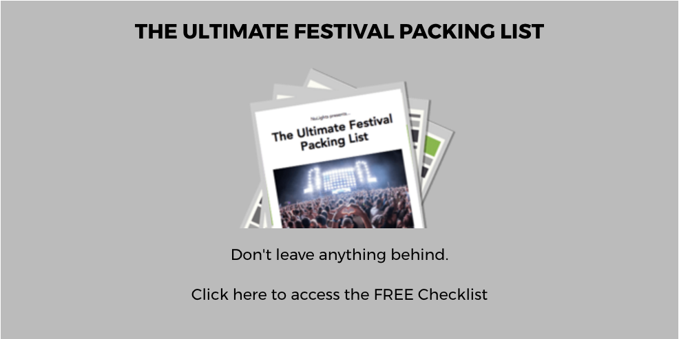 Festival Packing List