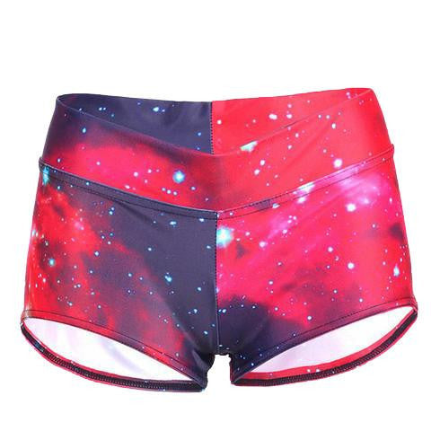 Galaxy Booty Shorts - NuLights