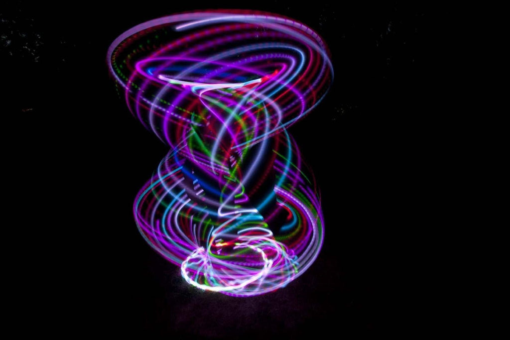 LED Rave Hoop - NuLights