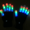 Full Finger LED Rave Gloves - Two Pack Discount