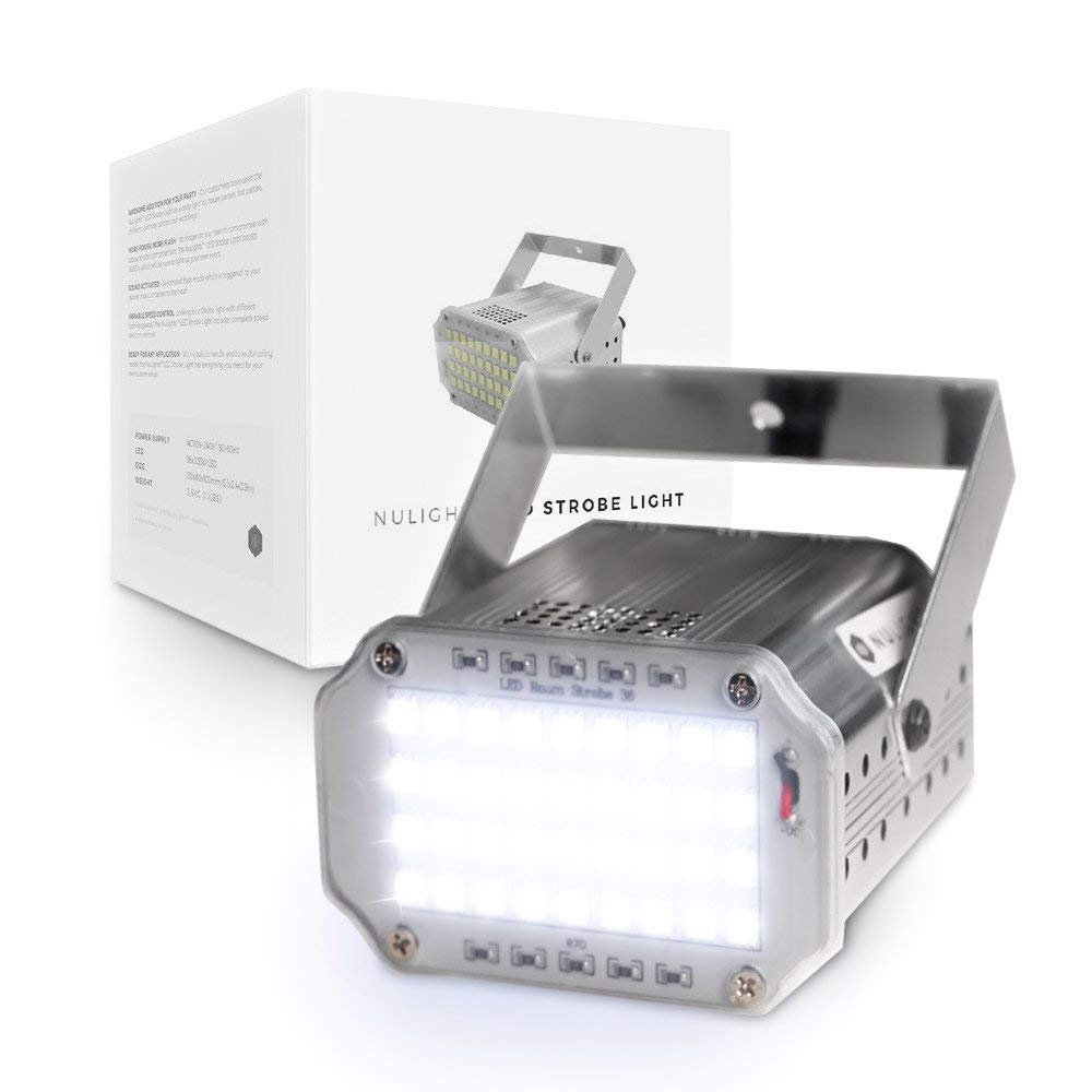 Buy LED Strobe Light Online | Cheap Party & DJ Lighting | NuLights