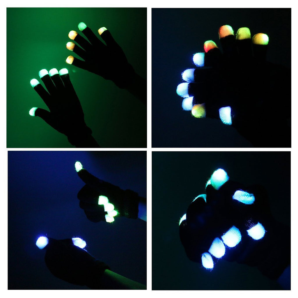 LED Rave Gloves - NuLights
