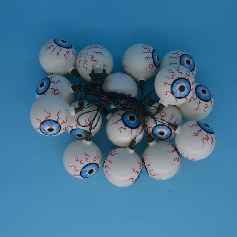 "Halloween ""Eye Ball"" String Lights - NuLights"