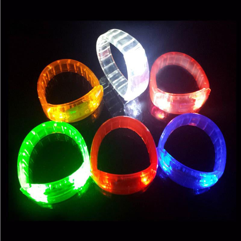 LED Flashing Bracelet - Pack of 10 - NuLights