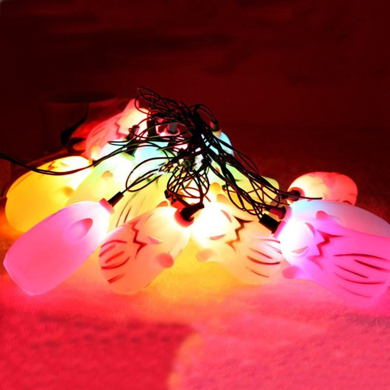 "Halloween ""Ghost"" String Lights - NuLights"