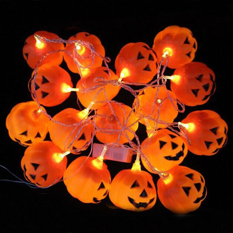 "Halloween ""Pumpkin"" String Lights - NuLights"