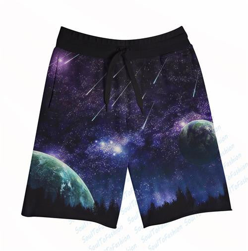 Galaxy Men's Shorts - NuLights