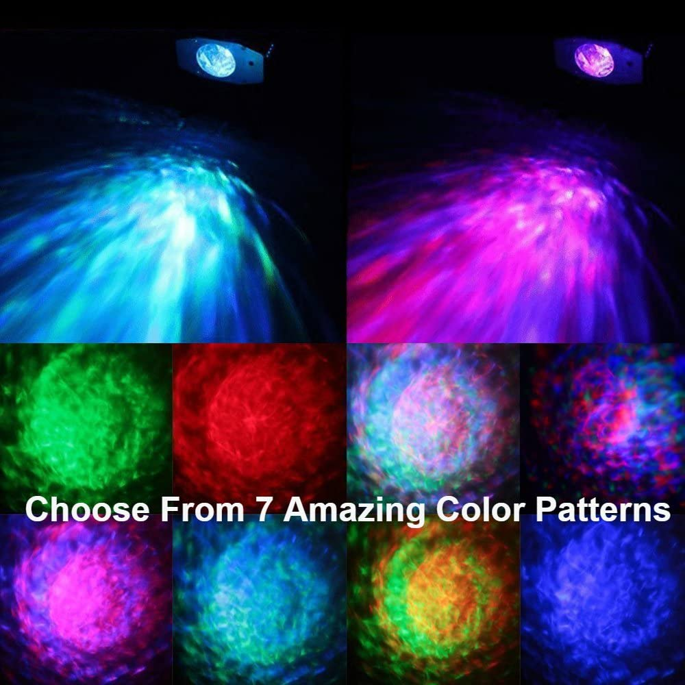 7 Colors of the Laser Party Light