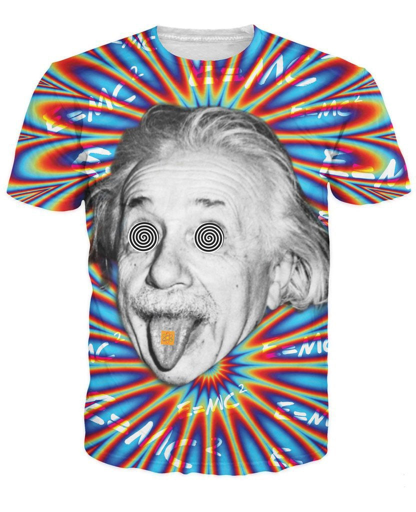 Trippy Einstein Tee - NuLights