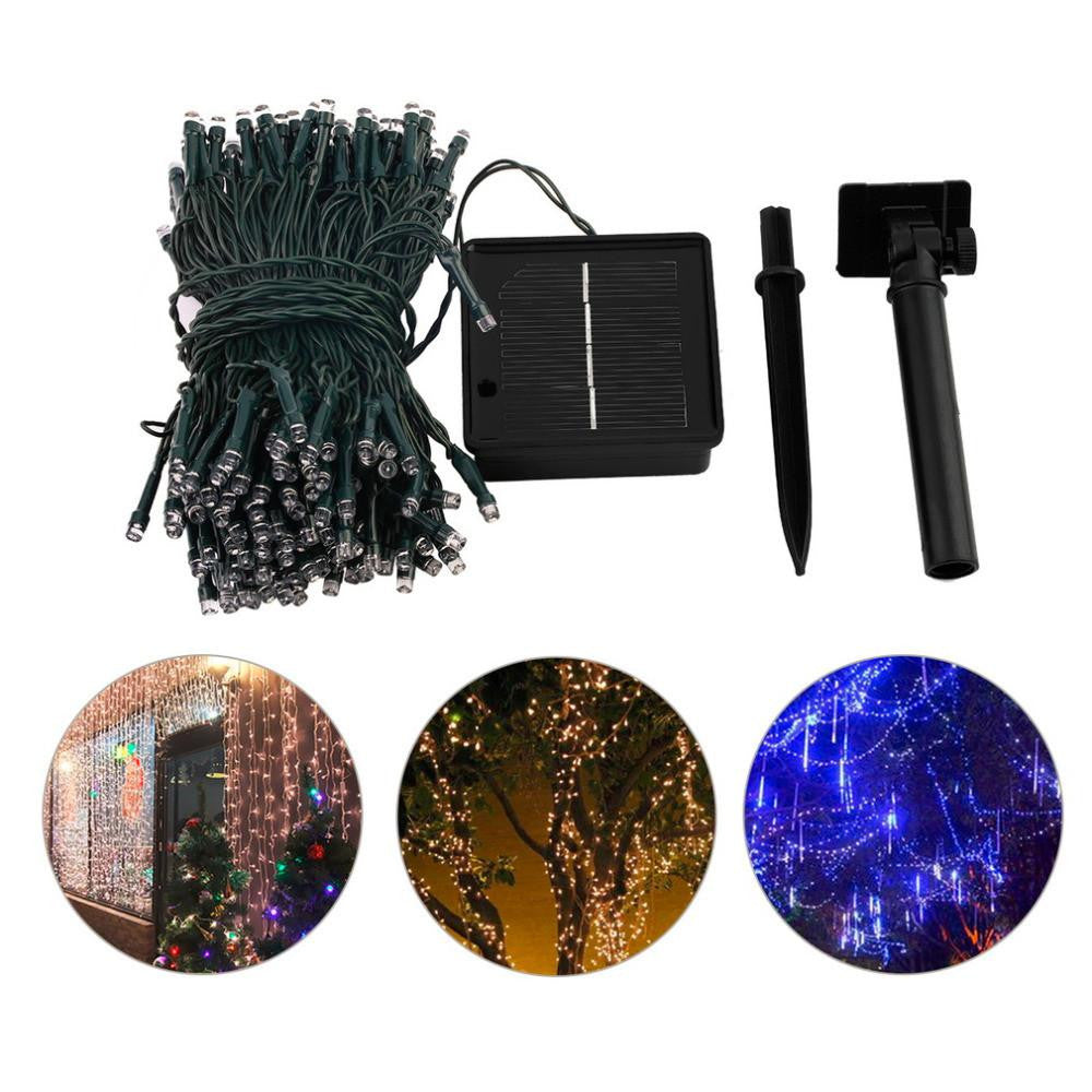 Solar Outdoor String Lights