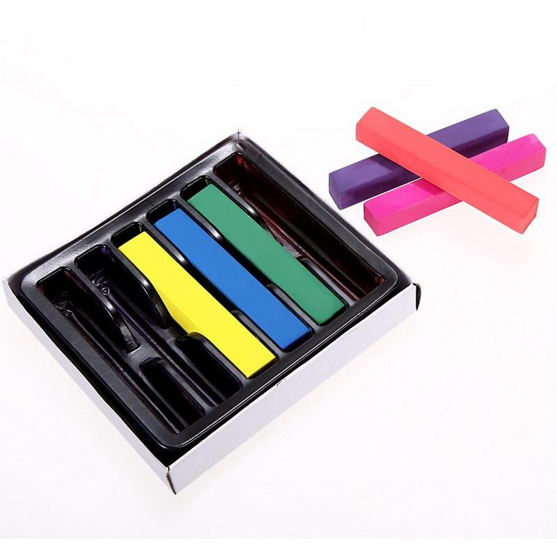 Temporary Hair Chalk - 6 Color Pack - NuLights