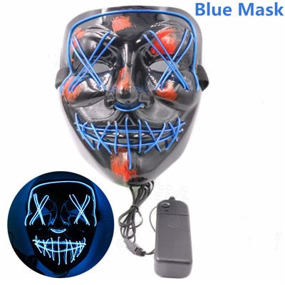 Light Up Wire Mask - NuLights