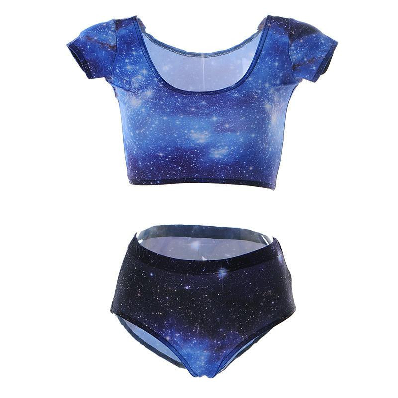 Galaxy Two Piece Swimsuit - NuLights