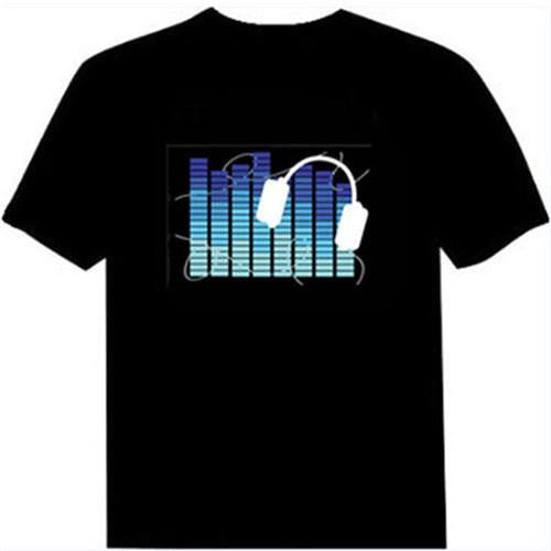 Light Up Rave Tee | Cheap Mens Rave Clothing | NuLights