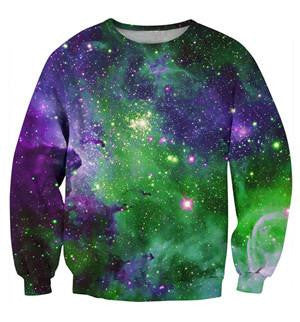 Rave Crew Neck 1 | Cheap Mens Rave Clothing | NuLights