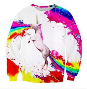 Rave Crew Neck 3 | Cheap Mens Rave Clothing | NuLights