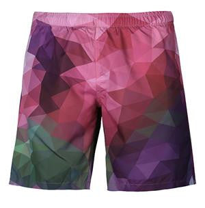 Geometric Pattern Men's Shorts 1 | Cheap Mens Rave Clothing | NuLights