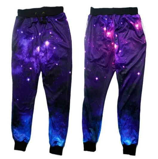 Galaxy Dreamer Pants 2 | Mens Rave Clothing | NuLights