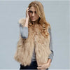 Faux Fur Vest - NuLights