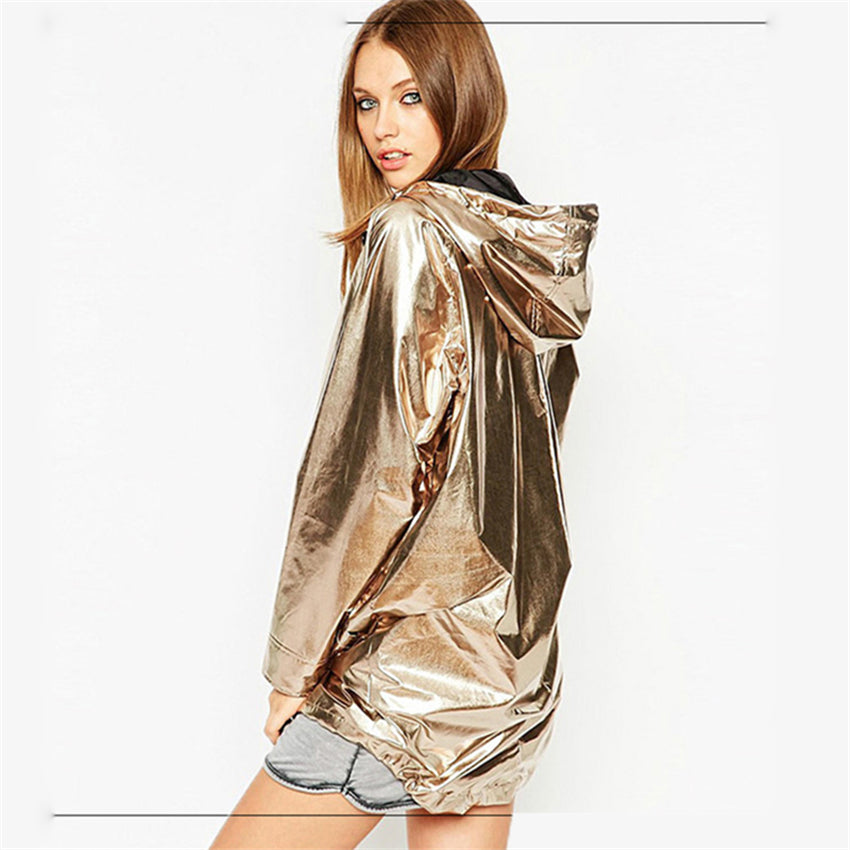 Shiny Hodded Jacket - NuLights