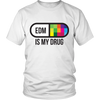 EDM Pill Tee - Light Colors - NuLights