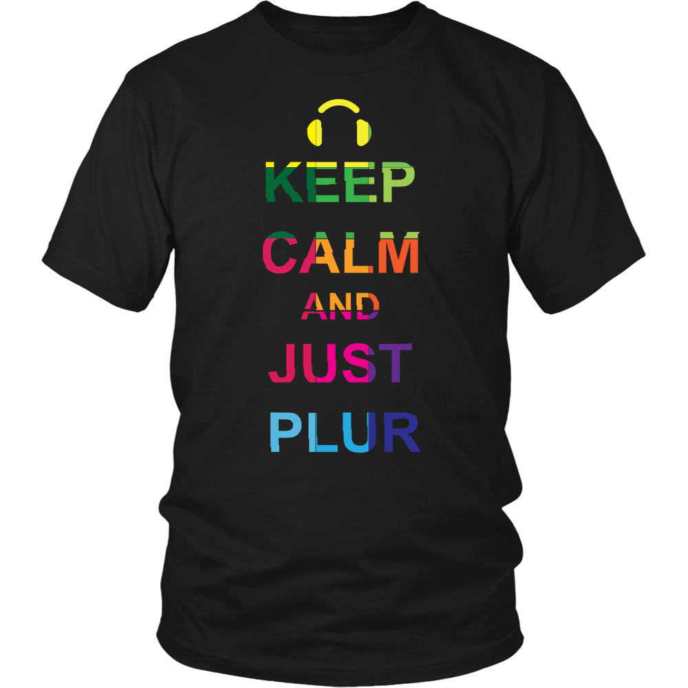 Keep Calm & PLUR Tee - NuLights