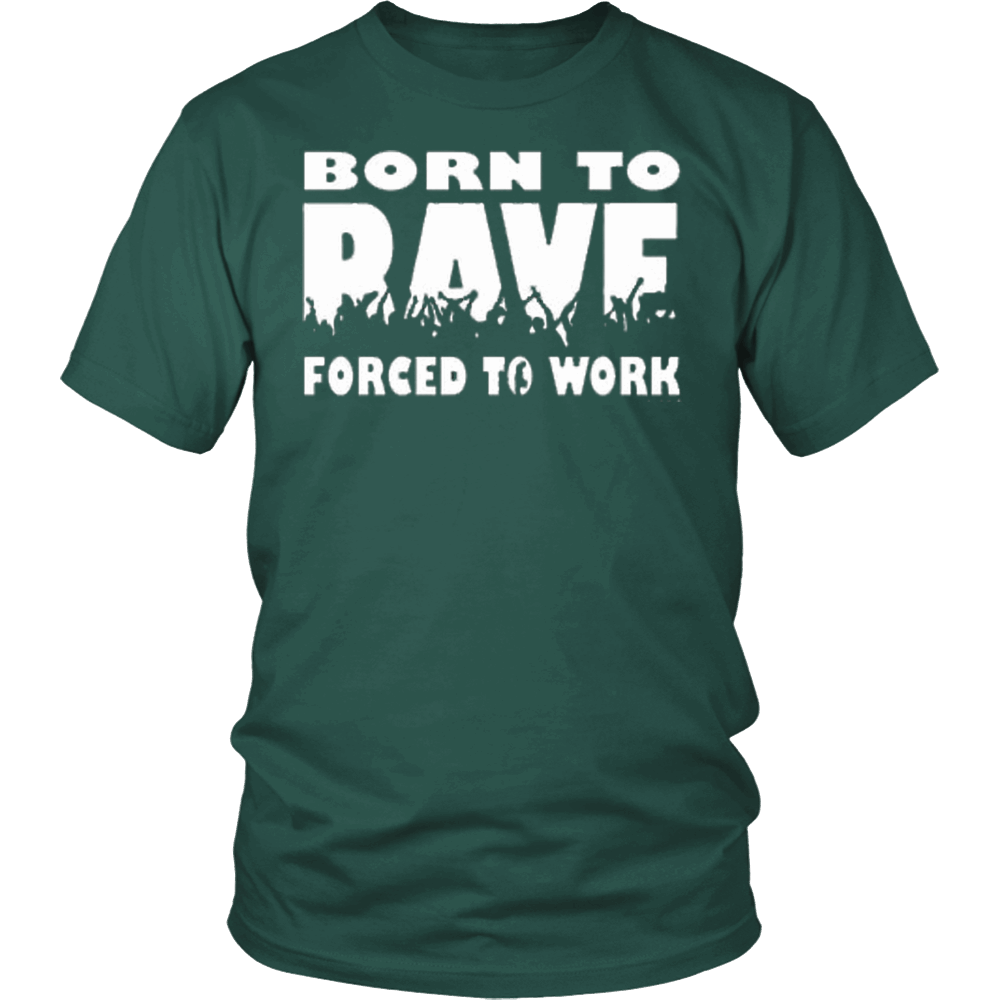 Born To Rave Tee - NuLights