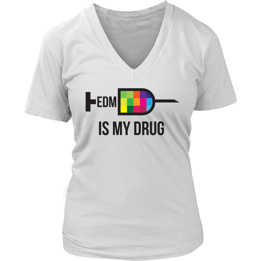 EDM Syringe Tee - White Colors - NuLights