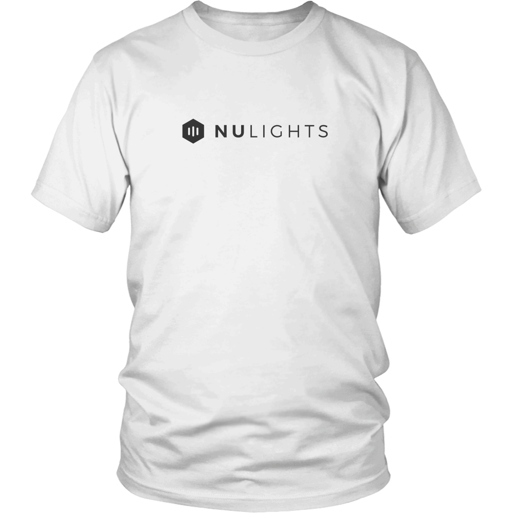 NuLights Unisex T-Shirt White - NuLights