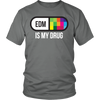 EDM Pill Tee - Dark Colors - NuLights