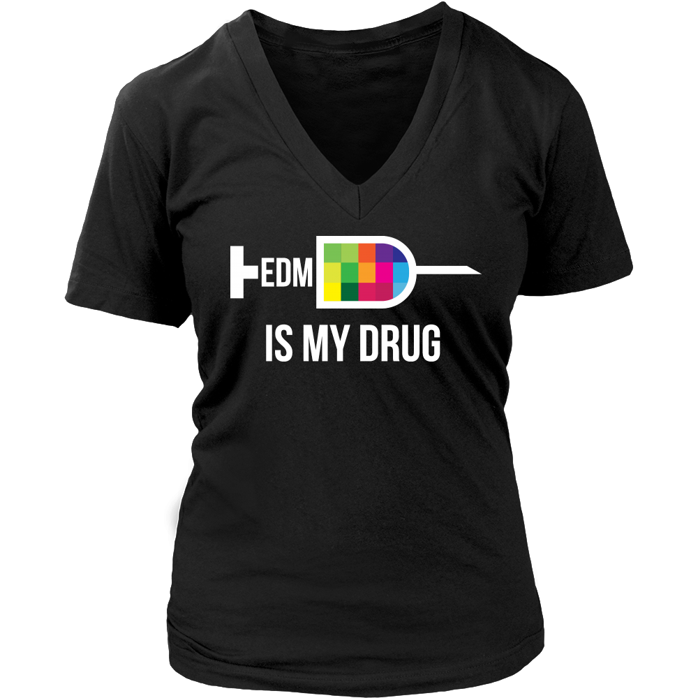 EDM Syringe Tee - Dark Colors