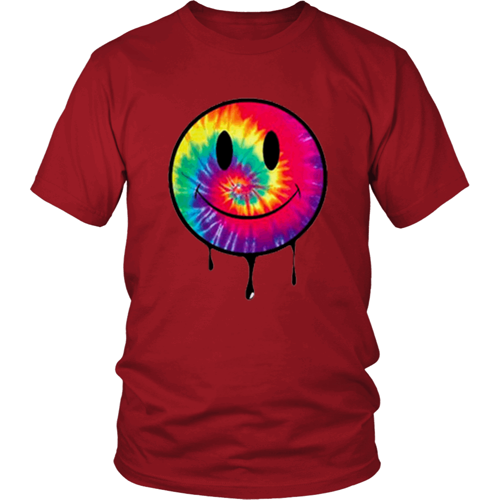 Tie Dye Smiley Tee - NuLights