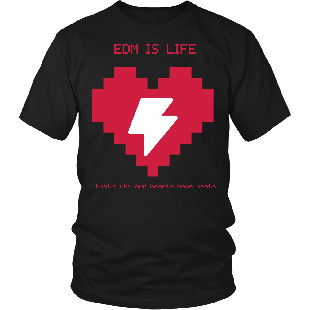 EDM Is Life Tee - NuLights