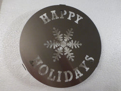 Happy Holidays Hot Plate