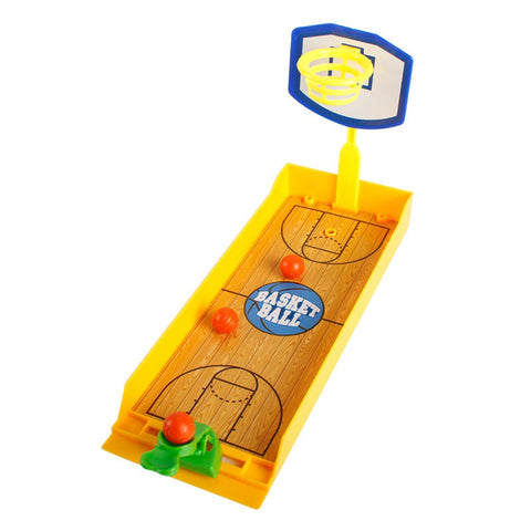 Shooting Game Finger Desktop Mini Basketball Toys Kids Gift YELLOW Other Novelty & Gag Toys