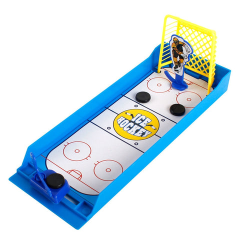 Shooting Game Finger Desktop Mini Hockey Toys Kids Gift BLUE Other Novelty & Gag Toys
