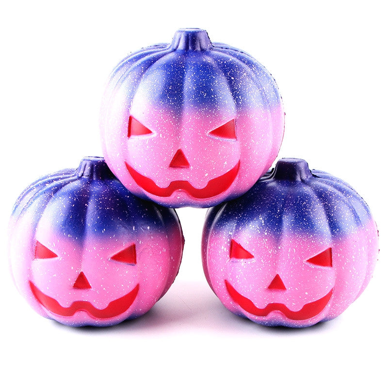 12CM Night Star Pumpkin Soft Slow Rising Toy Made By Enviromental PU Material