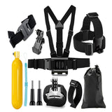 Action Camera Accessories Set Head Strap Chest Mount Kit For GoPro Hero 6/5S/5/4/3+/3/2/1/SJCAM/SJ4000 BLACK Other Camera Accessories