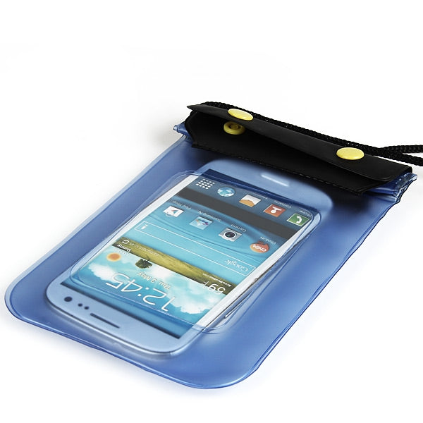 Blue Waterproof Case Bag for iPhone