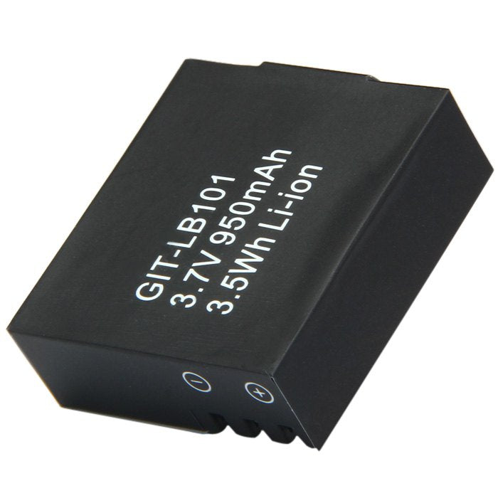 Replecement 950mAh Li-ion Battery for Git Up Git 1 / 2 Sports DV BLACK Other Camera Accessories