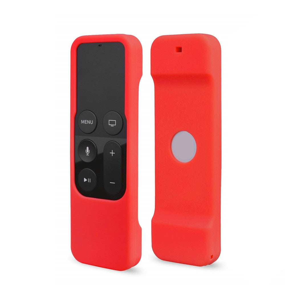 Case Cover for Apple TV Siri Remote Control 4th Generation Durable Silicone RED Other Audio & Video Accessories