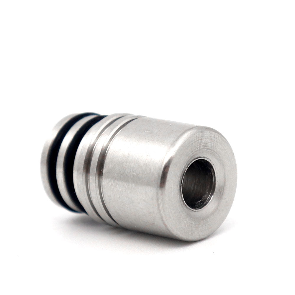 YUHETEC 510 Stainless Steel Drip Tip for Nectar Micro RDTA Atomizer SILVER Electronic Cigarette Accessories
