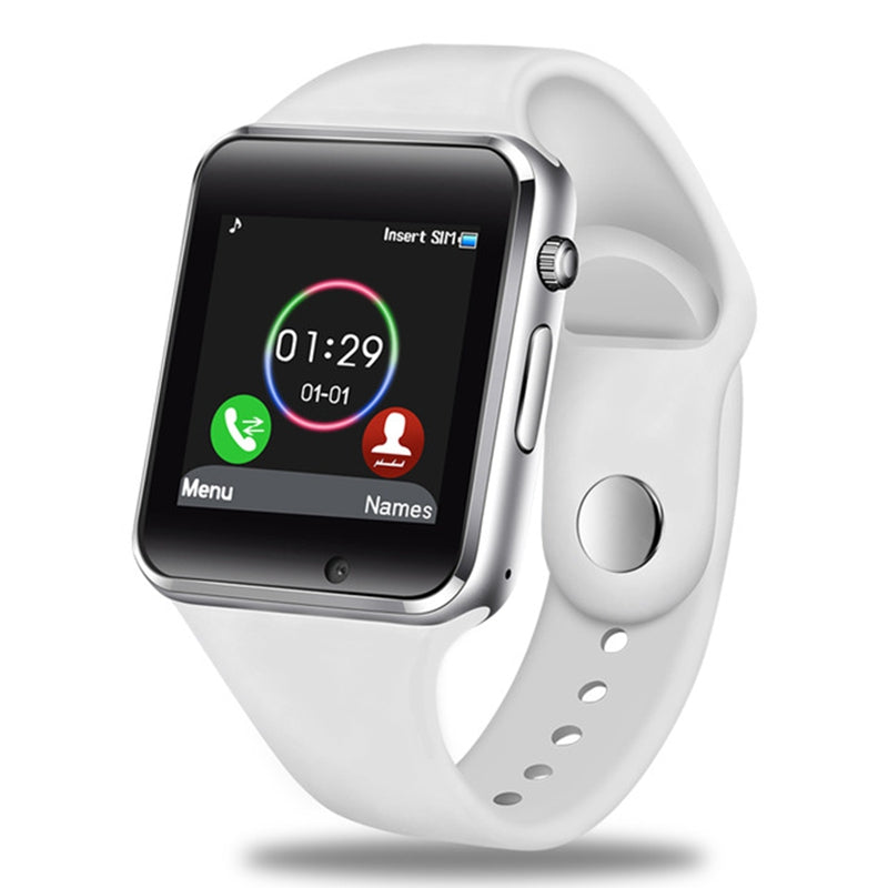 NEW A1 Smart Watch Support SIM TF Card Bluetooth Call Pedometer Sport Smartwatch WHITE Watches