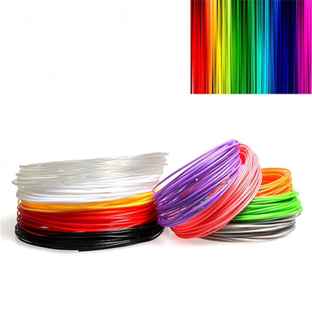 Sunlu 20 Colors 1.75mm ABS Filament 10m / Bag Printing Supplies for 3D Drawing / Printing Pen