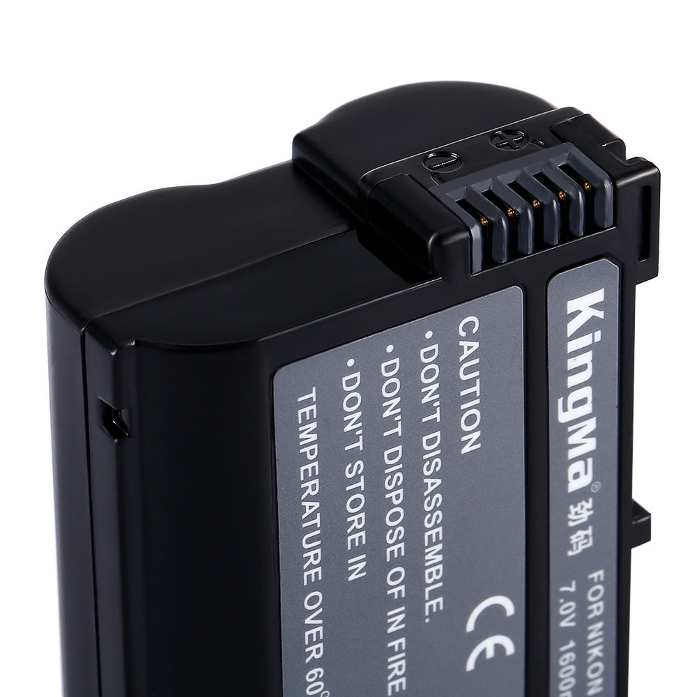 Kingma ENEL15 Rechargeable Camera Li-ion Battery for Nikon D7100