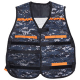 Children Adjustable Tactical Vest with Storage Pocket Protective Waistcoat COLORMIX Other Outdoor Toys