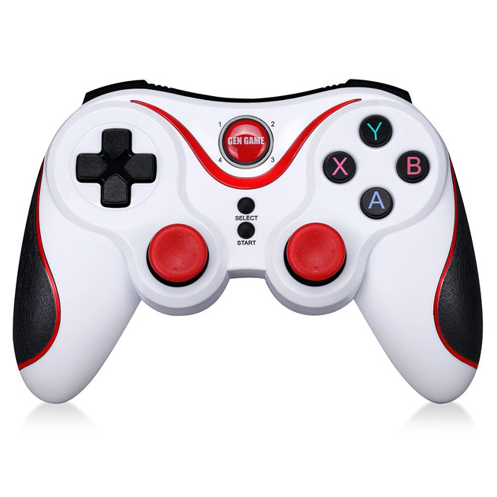 GEN GAME S5 Wireless Bluetooth Gamepad Game Controller WHITE Game Controllers