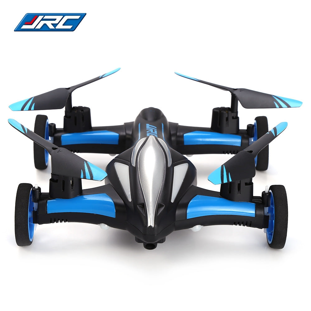 JJRC H23 2.4G RC Quadcopter Land / Sky 2 in 1 6 Axis Gyro UFO Headless Mode / One Key Return Feature BLUE AND BLACK RC Quadcopters
