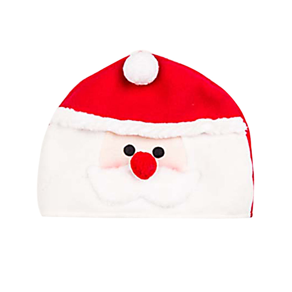 Lovely Cartoon Christmas Hat Gift Decoration Ornament Supply for Holiday Party SANTA CLAUS COLORMIX Dolls & Stuffed Toys